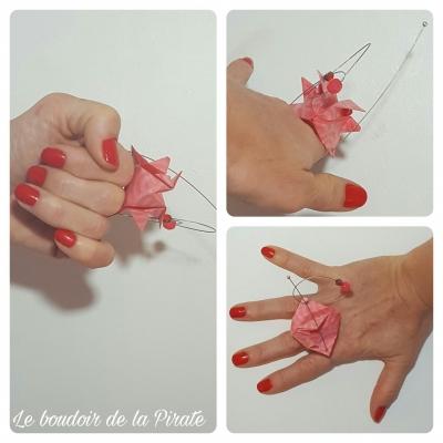 bague pinkpet bijou porté