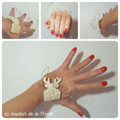 bracelet goldencaribou bijou porté