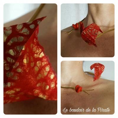 collier redarrox bijou porté