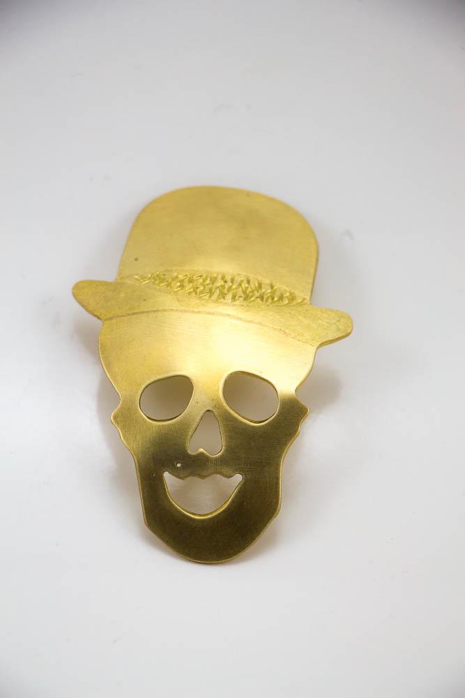 broche lowbowler, vue de face, collection les jolly rogers