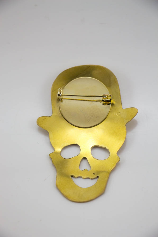 broche lowbowler, vue de dos, collection les jolly rogers