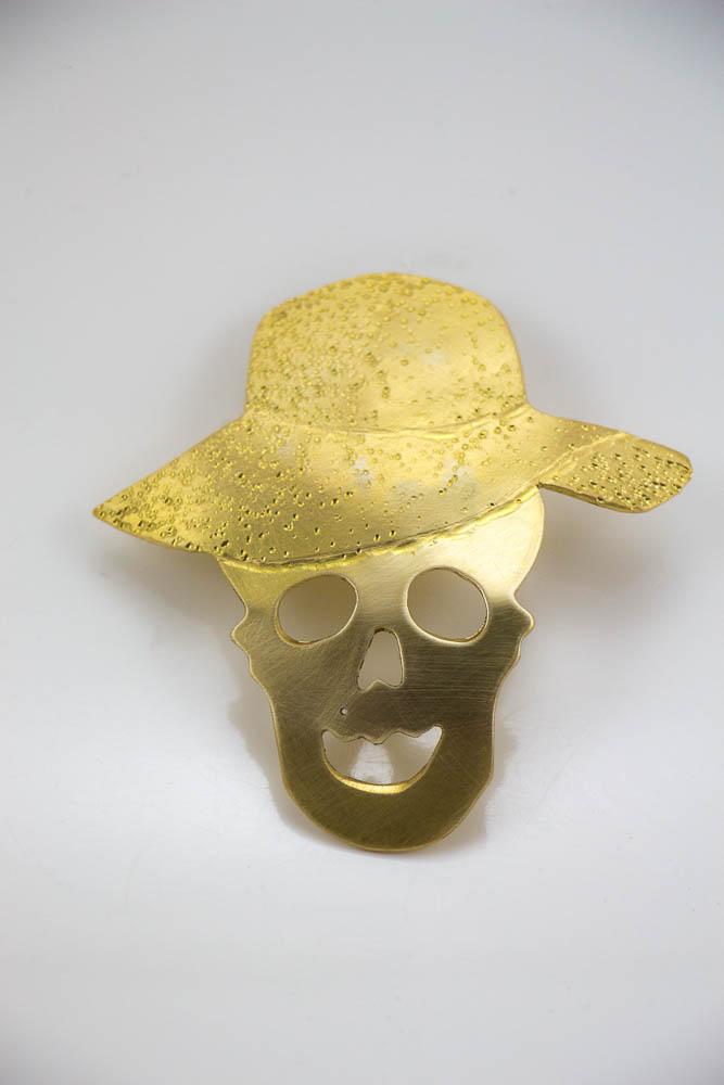broche mistyk, vue de face, collection les jolly rogers